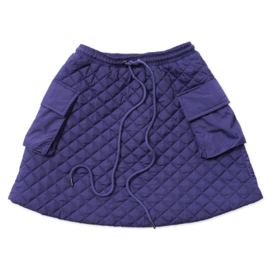 Indigo Dreams Lightweight Quilted Skirt