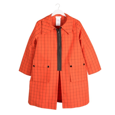 Orange Hit Raincoat