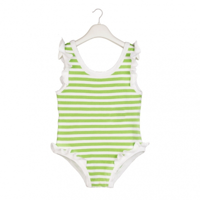 Lime Swimming suit