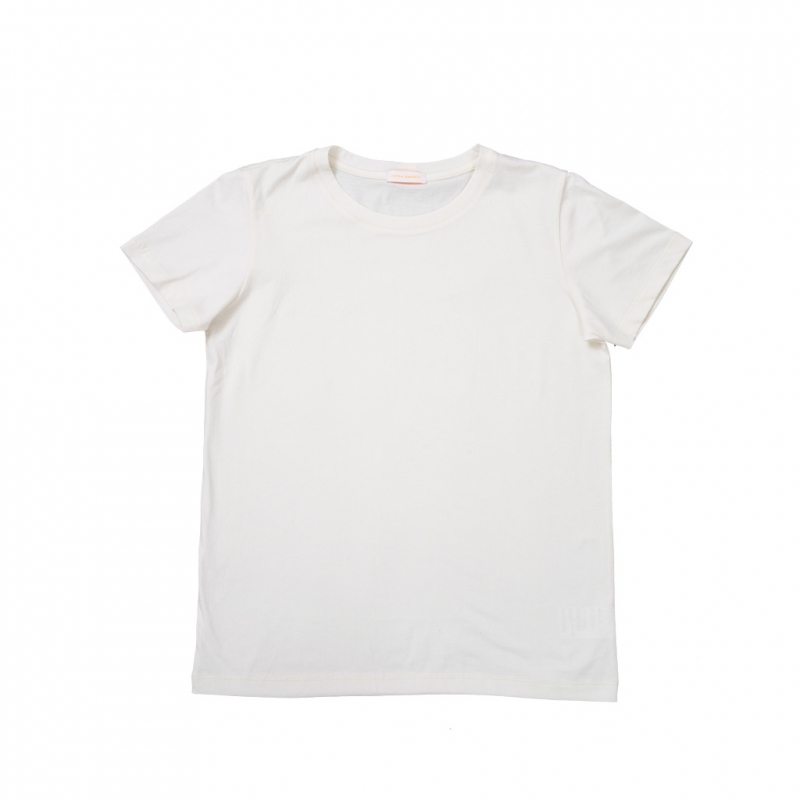 T-shirt for adult in off-white color