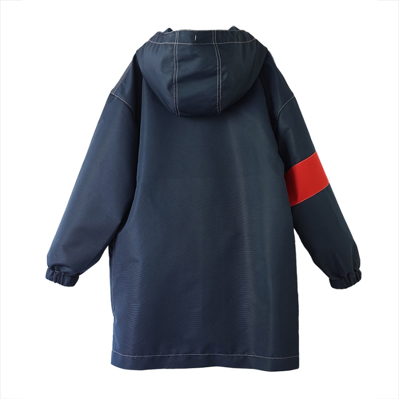 Star raincoat navy