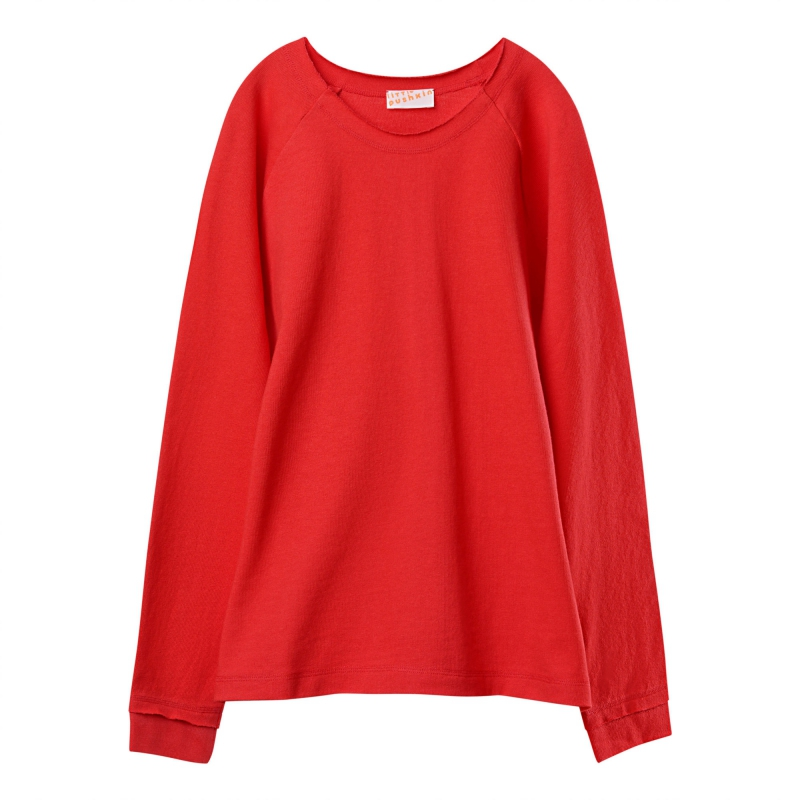 Basic long sleeve in red