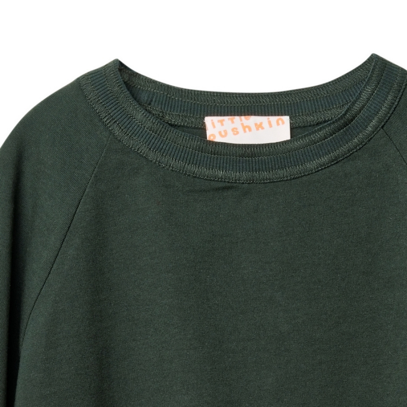 Basic long sleeve in green